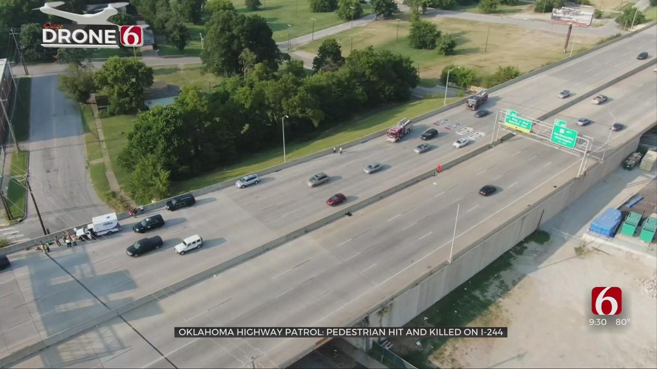 Pedestrian Hit, Killed By Semi On Tulsa Highway