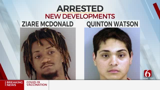 2 Arrested Following Broken Arrow Confrontation, Homicide
