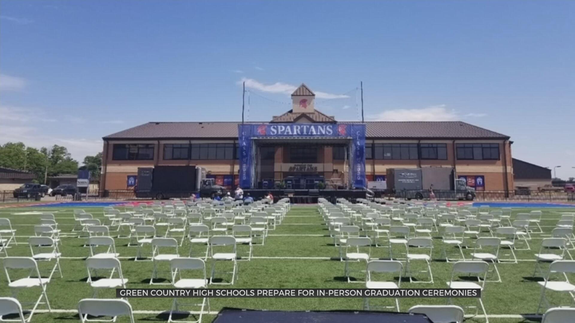 Bixby Seniors Excited As Schools Prepare For In-Person Graduation Ceremonies