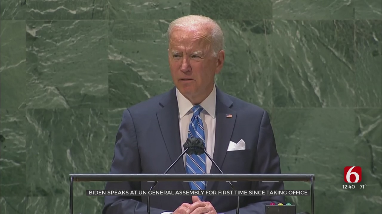 Biden Declares World At 'Inflection Point' Amid Crises