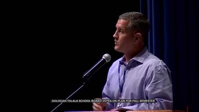 Oologah-Talala School Board Votes On Plan For Fall Semester
