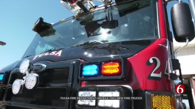 2 Tulsa Fire Stations Get New Firetrucks