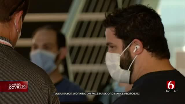 Tulsa Mayor, City Working On Face Mask Ordinance Proposal