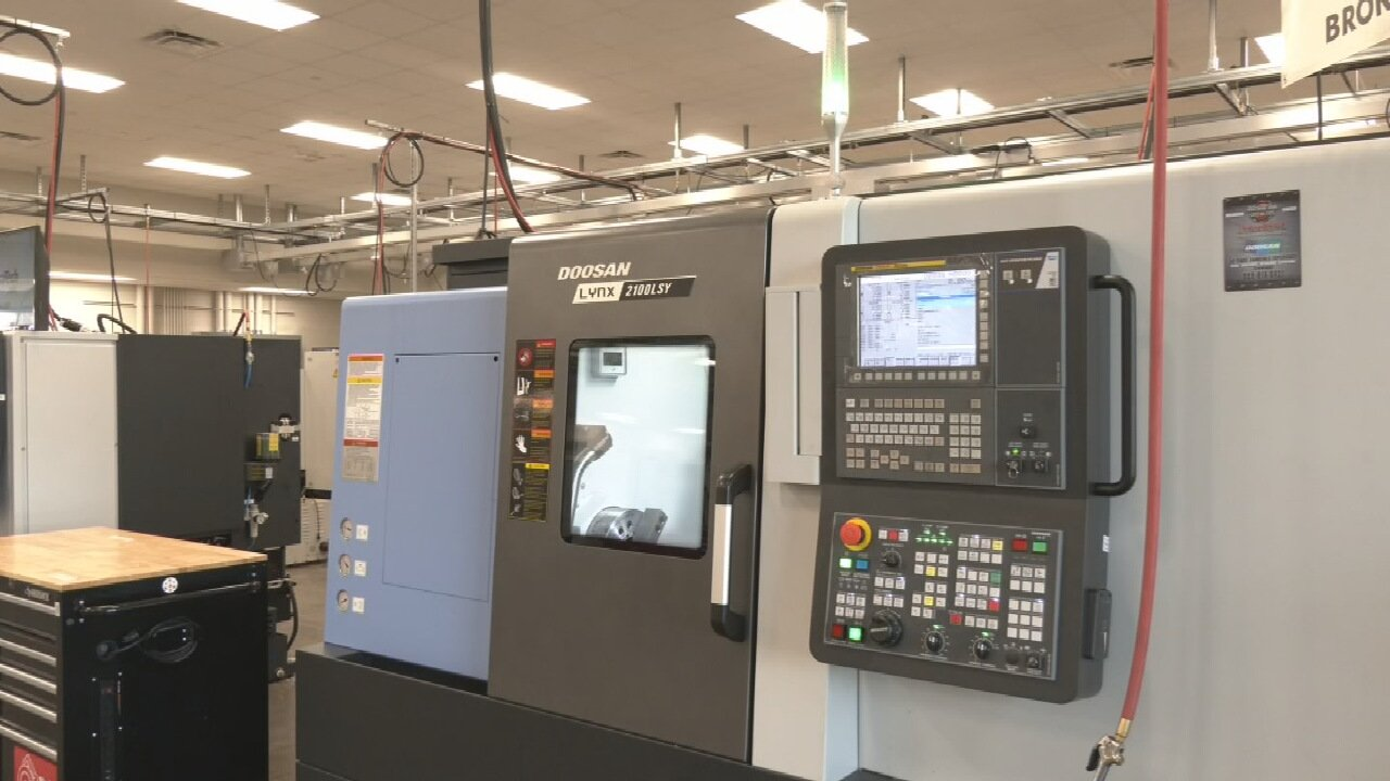 Tulsa Tech Program Aims To Fill Worker Shortage For Machining Industry