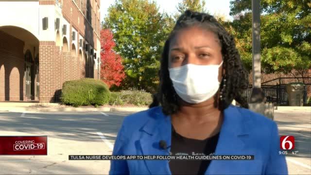 Tulsa Nurse Creates App To Help People Monitor COVID-19