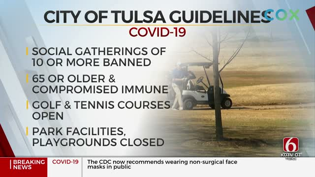 Tulsa's Safer At Home Order To End Friday; Some Businesses Reopening