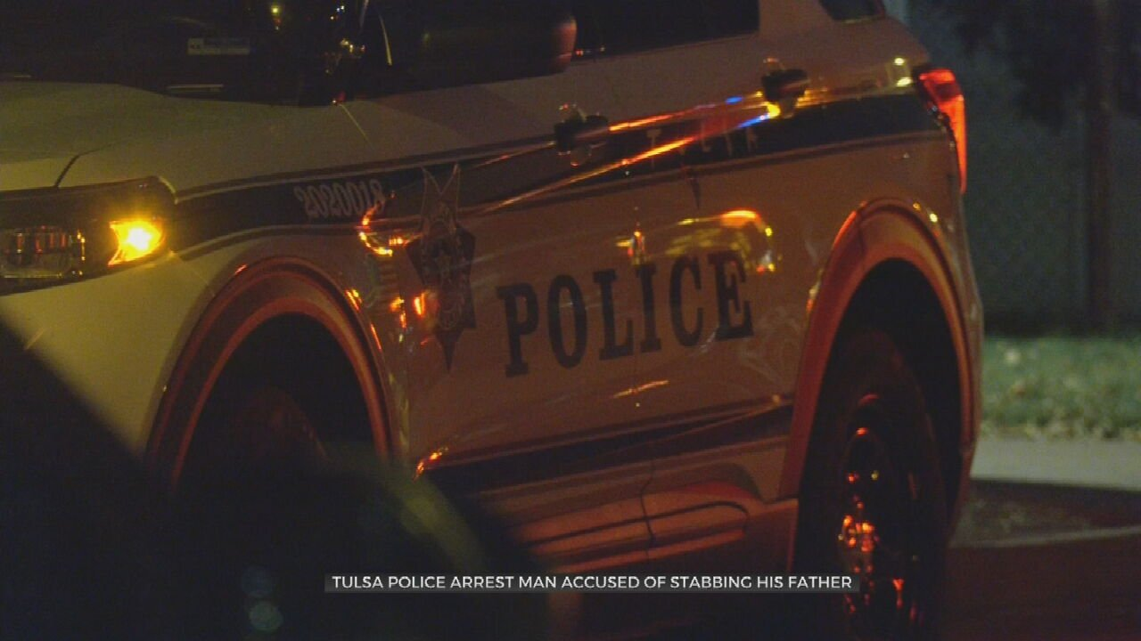 TPD: Man Arrested, Accused Of Stabbing Father Multiple Times