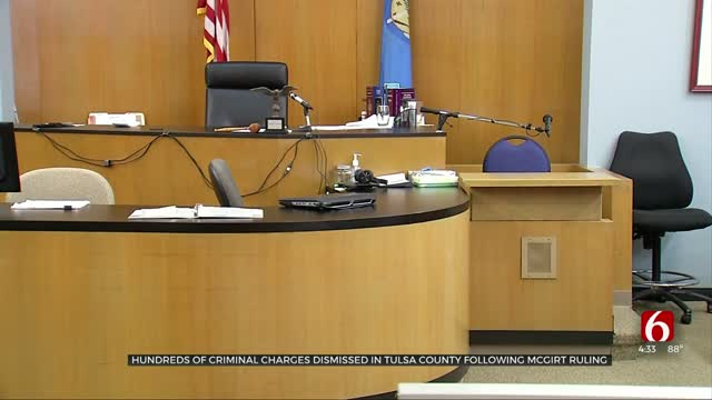 Hundreds Of Criminal Charges Dismissed In Tulsa County Following McGirt Ruling