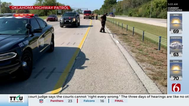 Police Search For Witnesses After Man Hit By Truck On Highway 412