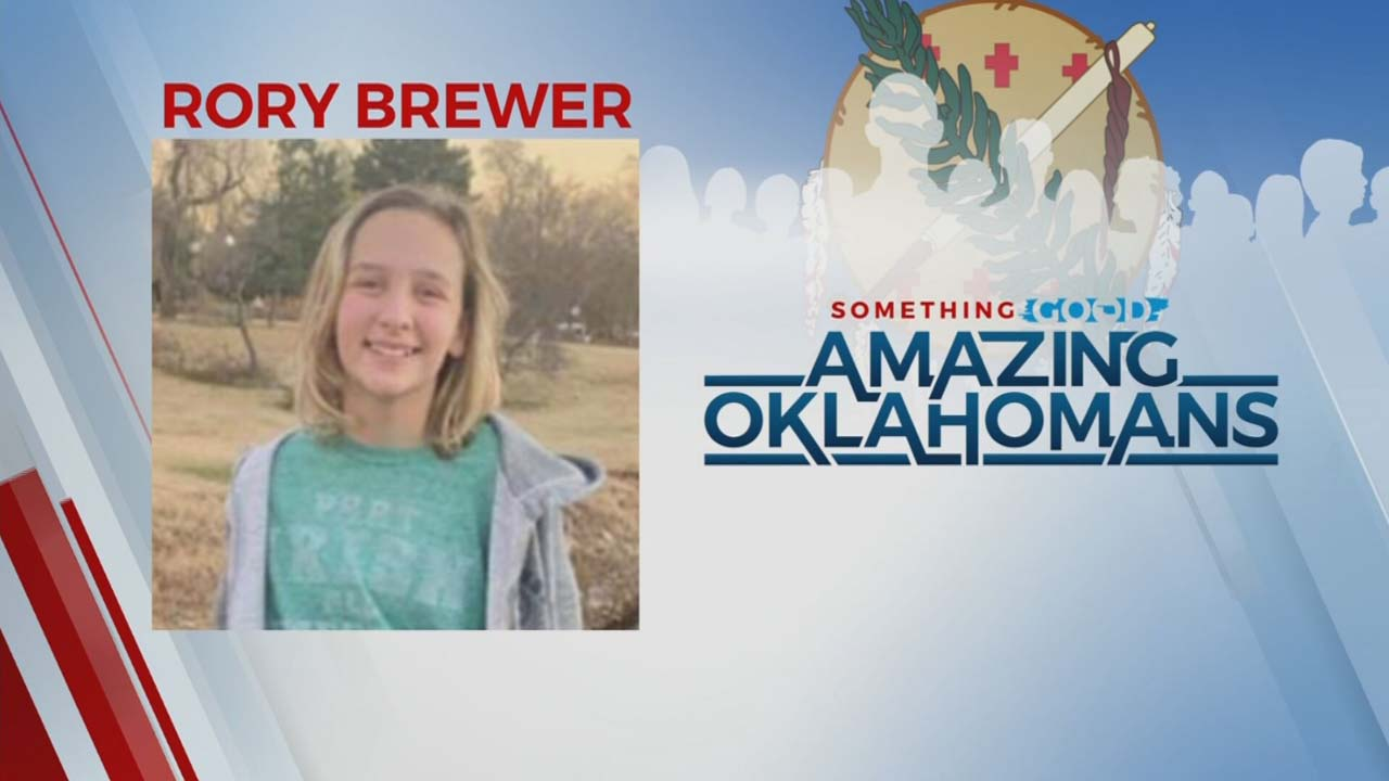 Amazing Oklahoman: 11-Year-Old Rory Brewer