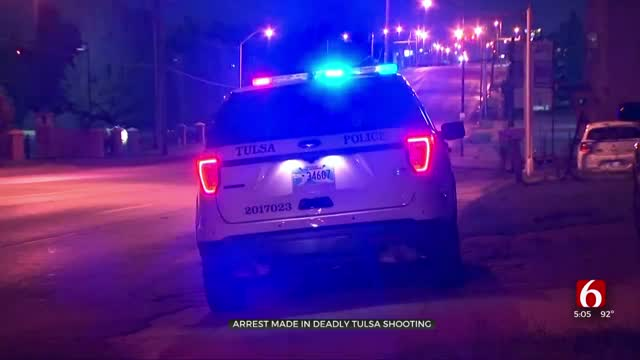 Tulsa Police: 1 Arrested After Man Found Shot To Death In Home