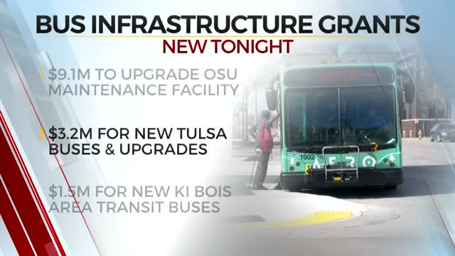Oklahoma To Receive Federal Grant To Revitalize State's Bus Infrastructure