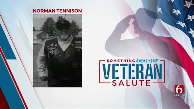 Veteran Salute: Norman Tennison