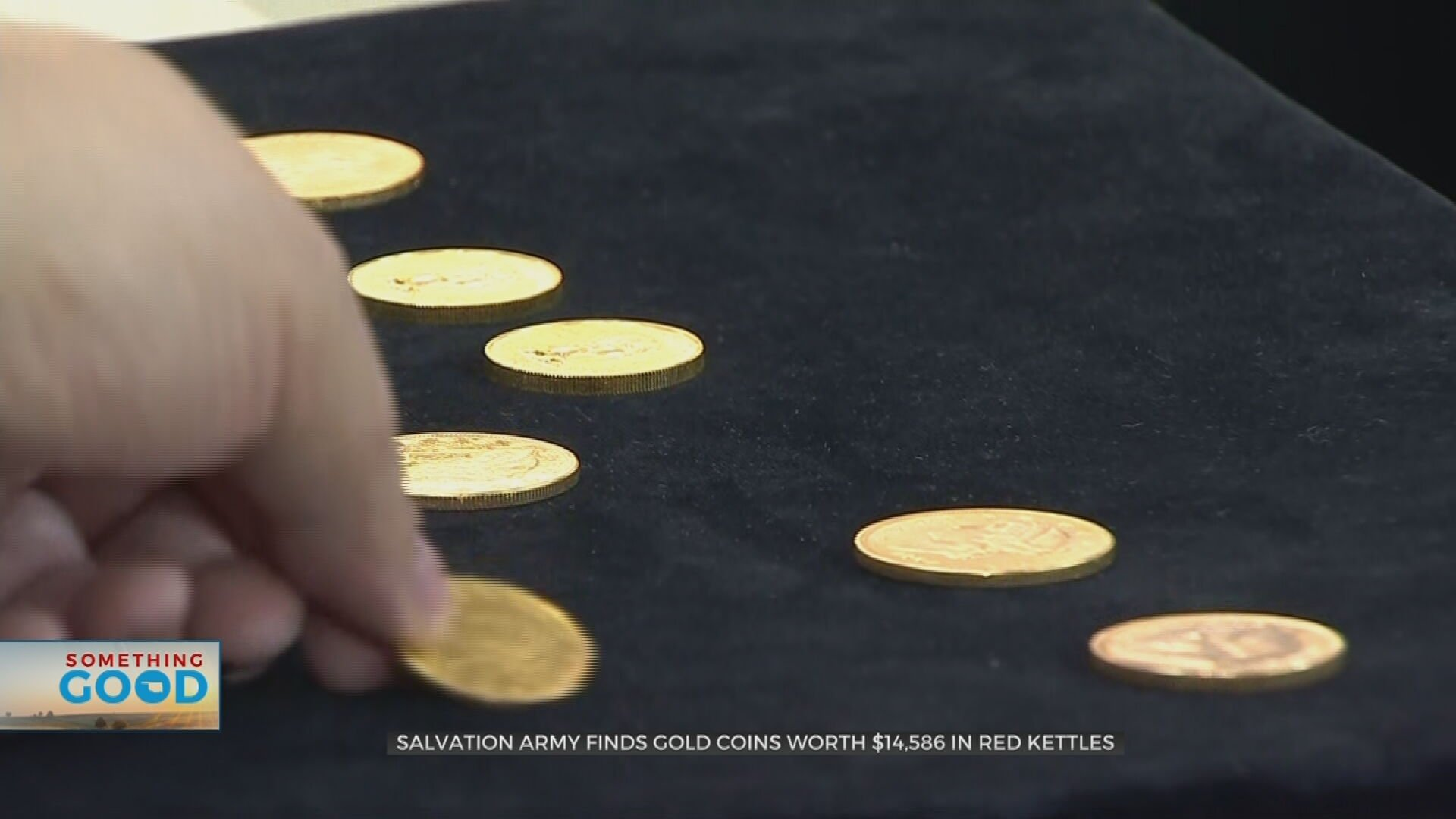 Tulsa Salvation Army Finds Gold Coins Worth Over $14,000 In Red Kettles