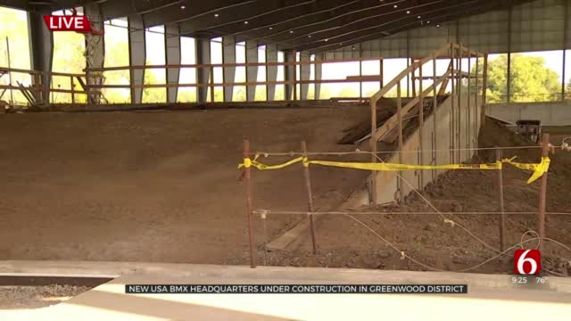 New USA BMX Headquarters Under Construction In Greenwood District