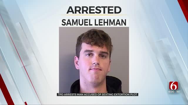 Tulsa Police Arrest Man Accused Of Convincing Teen Boys To Send Nude Photos