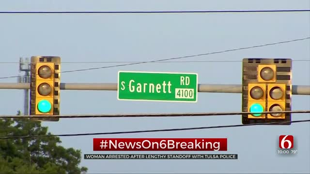 Update: Woman In Custody After Tulsa Police Standoff Near 41st, Garnett
