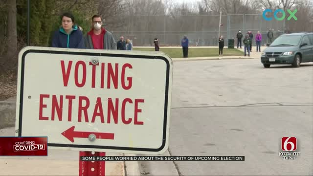 Some Oklahomans Worried About Election Security
