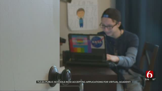 Tulsa Public Schools Virtual Academy Applications Open, 'Could Be Win-Win' For Future