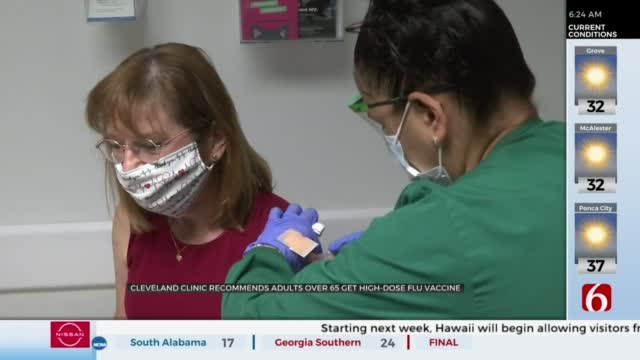 CDC Recommends Getting Flu Vaccine By End Of October