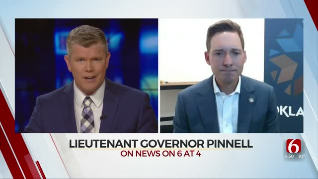 Watch: Lt. Governor Pinnell Discusses COVID-19