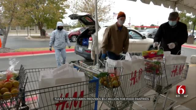 Tulsa County CARES Provides $3.2 Million For Food Pantries
