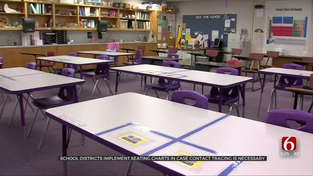 School Districts Implement Seating Charts In Case Contact Tracing Is Necessary