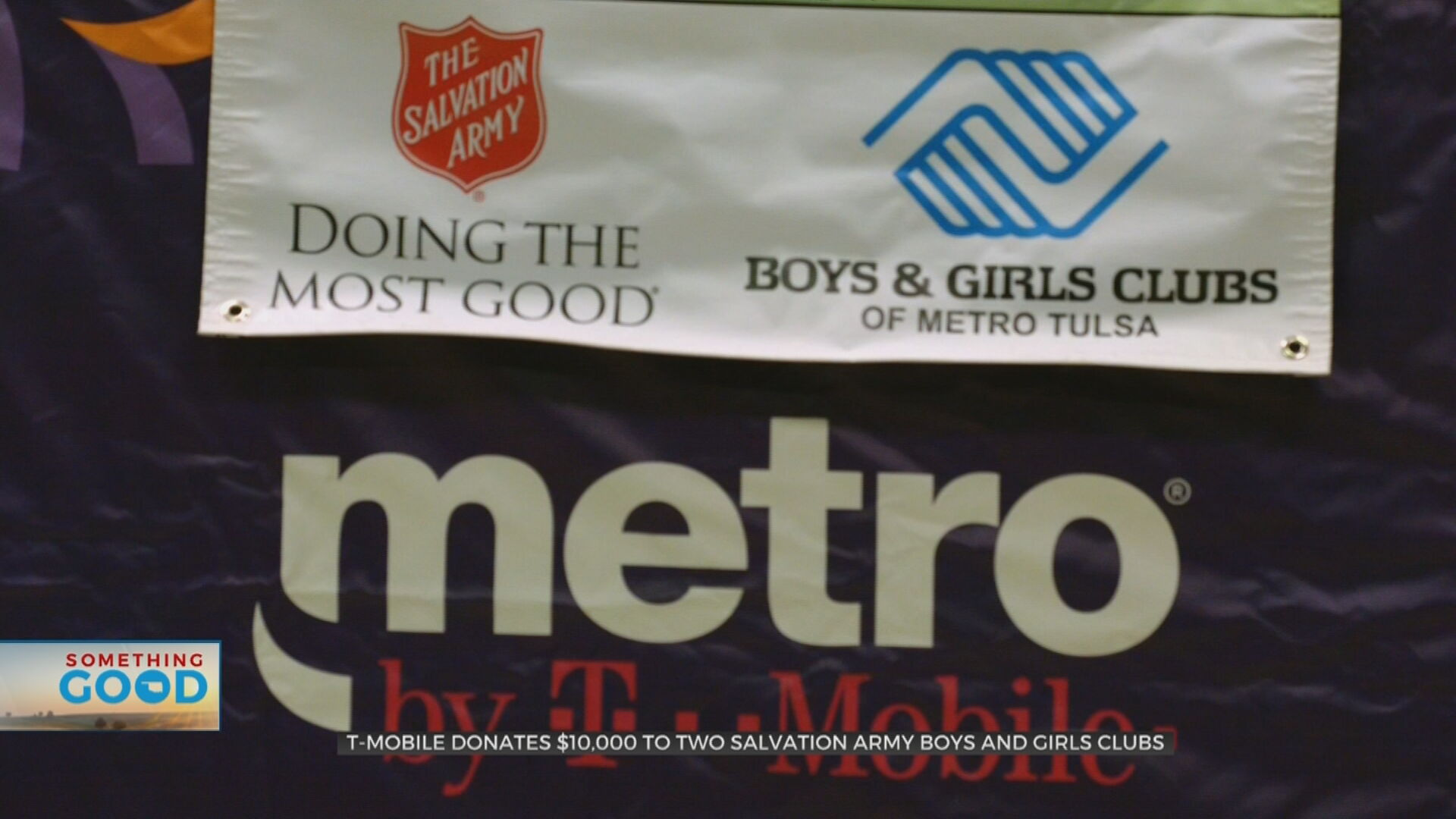 $10,000 Donated To Salvation Army Boys & Girls Clubs