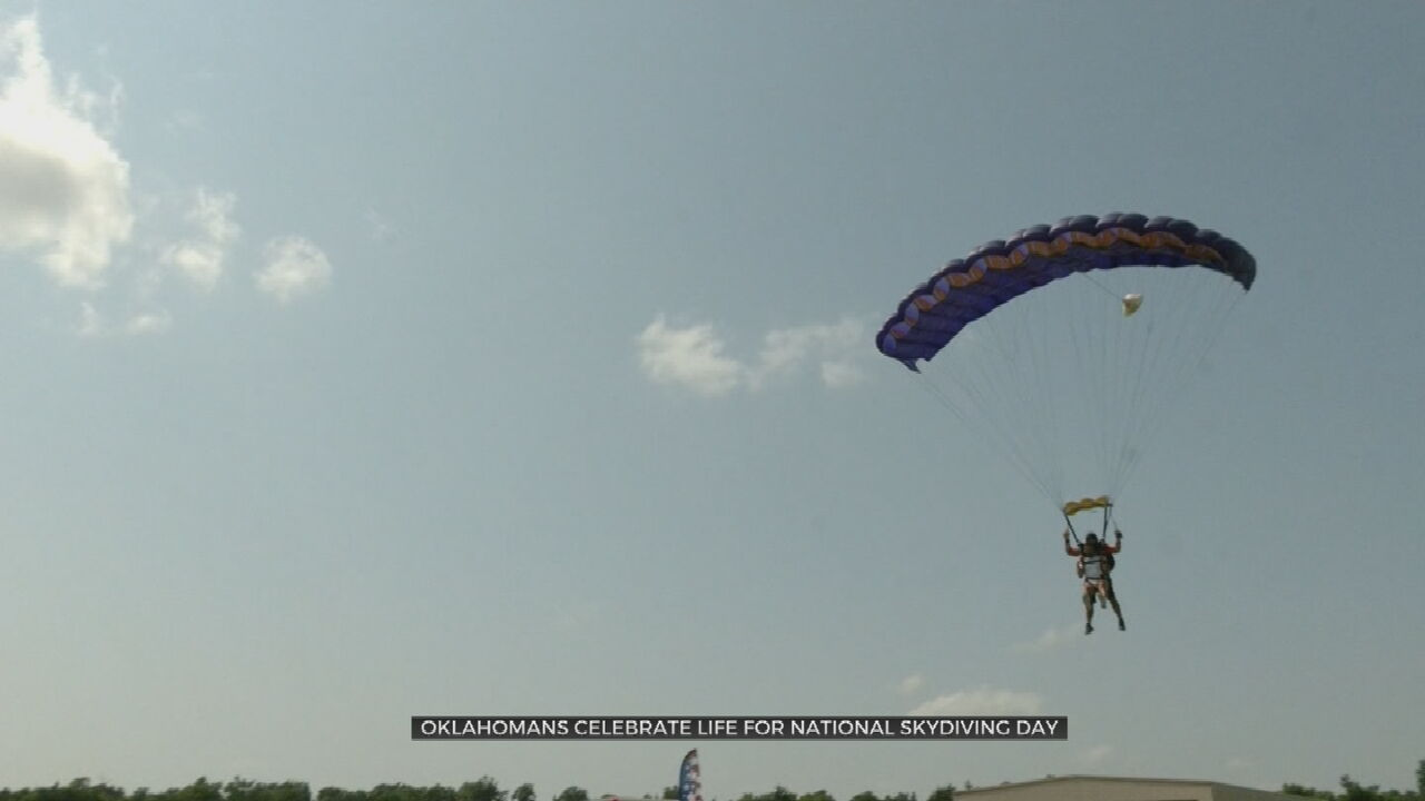 Oklahomans Celebrate Life On National Skydiving Day