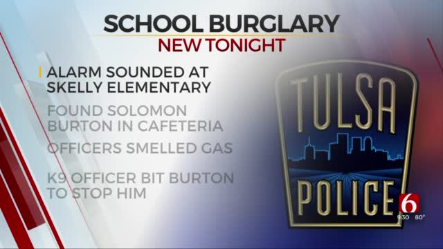 Police Arrest Man Accused Of Attempted Arson At Tulsa Elementary School