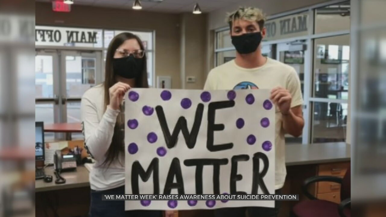 'We Matter Week' Raises Awareness About Suicide Prevention