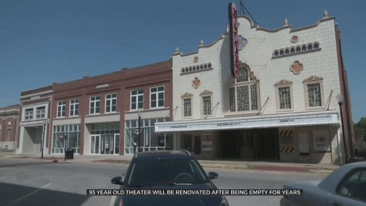 Fundraising Effort Launched To Revive 93-Year-Old Theater In Coffeyville