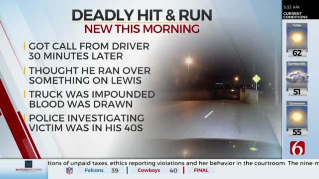 Tulsa Cyclist Killed In Hit And Run