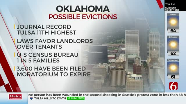 Experts Fear Many Oklahomans Could Face Eviction After Moratorium Expires