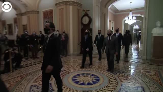 Senate Receives Article Of Impeachment Against Trump