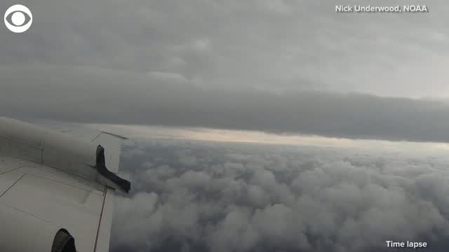 WATCH: Hurricane Hunters Search For Center Of Tropical Storm Laura
