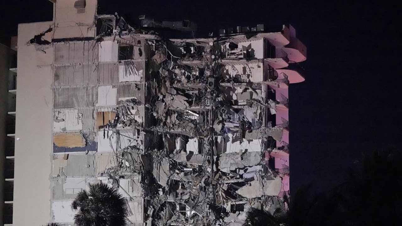 Miami, Florida-Area Condo Collapses, Killing At Least 1 Person
