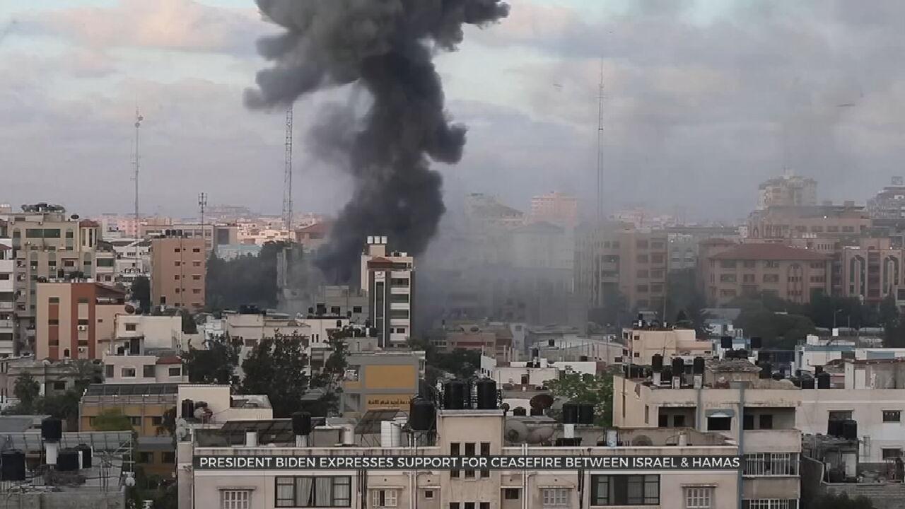 Biden Raises Cease-Fire, Civilian Toll In Call To Netanyahu