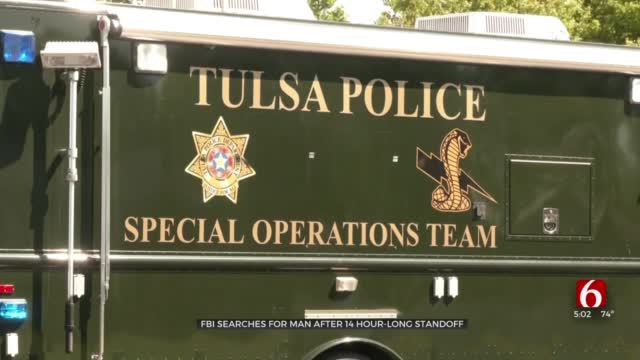 FBI Searching For Man After 14-Hour Standoff In Tulsa