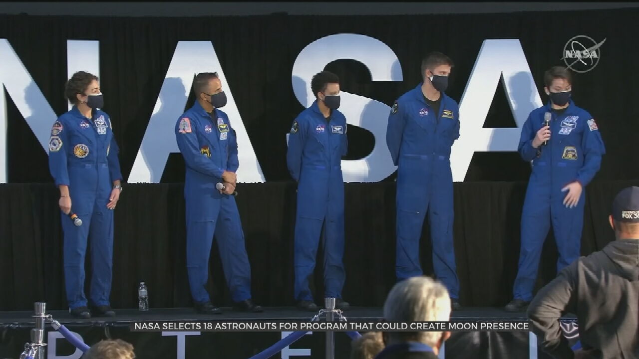 NASA Names 18 Astronauts To Train For Artemis Moon Landings