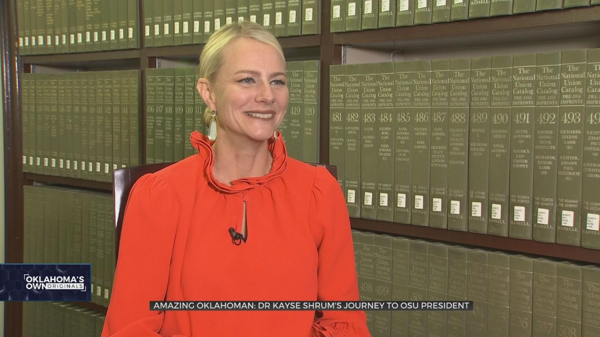 Amazing Oklahoman: Dr. Kayse Shrum's Journey To Become OSU's First Female President