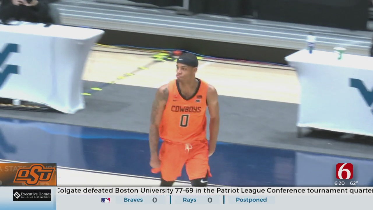 Without Cunningham, No. 17 Oklahoma State Beats No. 6 WVU