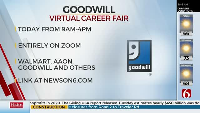 Goodwill Holding Virtual Career Fair