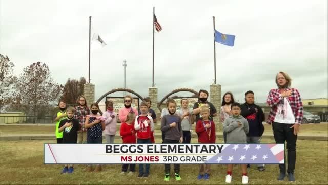 Daily Pledge: Mrs. Jones' 3rd Garde Class
