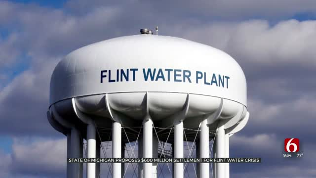 State Of Michigan Proposes $600 Million Settlement For Flint Water Crisis