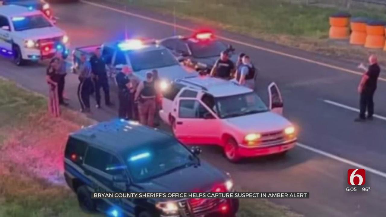 Multiple Oklahoma Departments Work Together To Capture Murder, Amber Alert Suspect