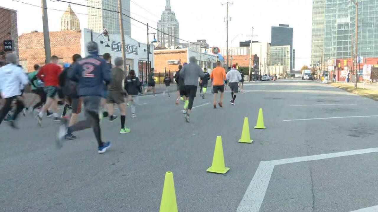 12th Annual Turkey Trot Kicks Off In Downtown Tulsa