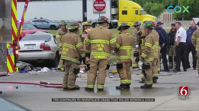 Tulsa Police Say Toddler in Deadly Crash Did Not Have Car Seat, Adults Not Wearing Seat Belts