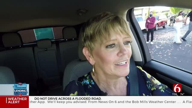 Watch: Lending A Hand Winner Drives Off In New Car