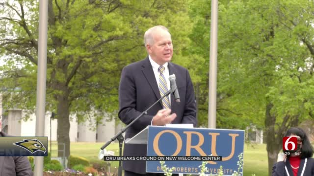 Oral Roberts University Holds Groundbreaking For New Welcome Center